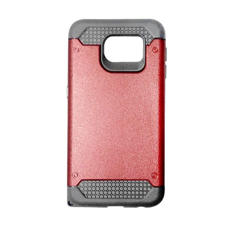 Super Cool Hybrid Merah Casing for Samsung Galaxy S6
