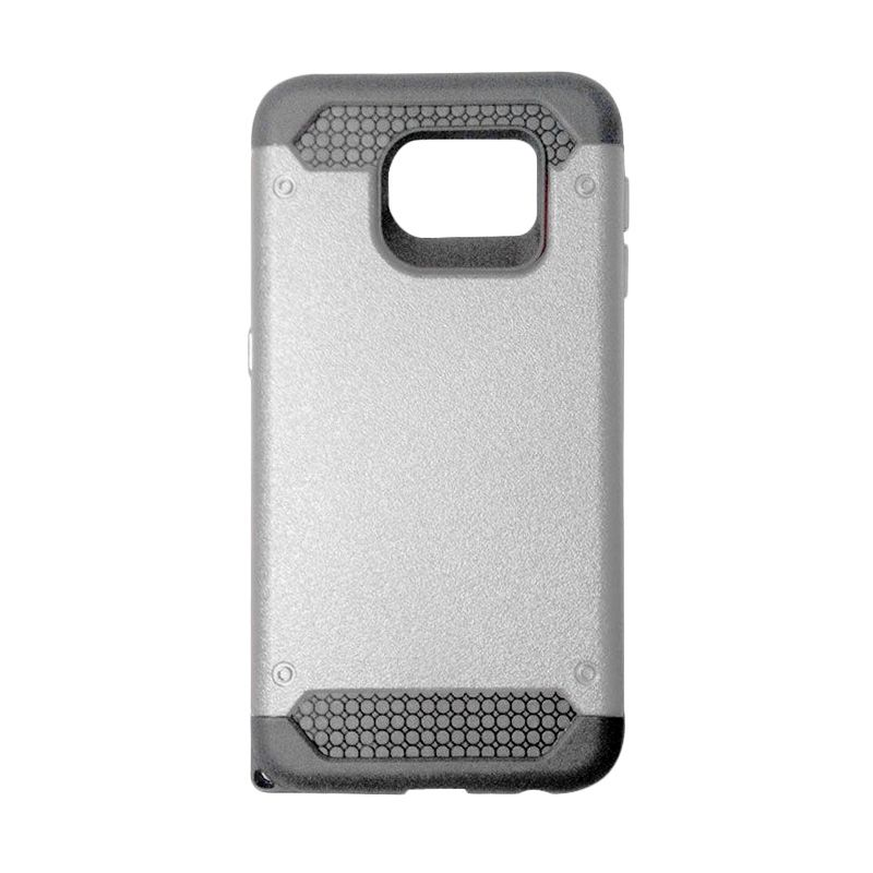 Super Cool Hybrid Silver Casing for Samsung Galaxy S6