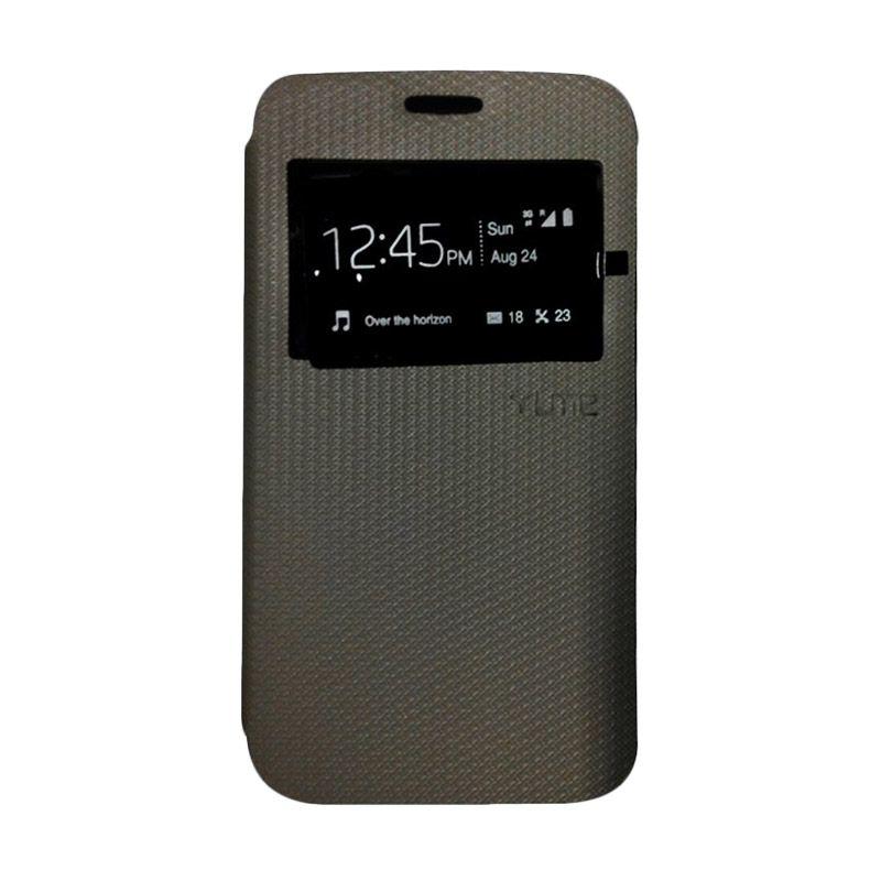 Ume Hitam Flip Cover Casing for Samsung Galaxy E7