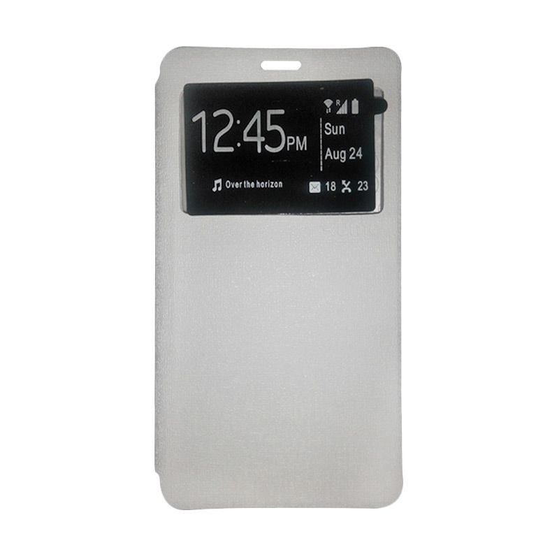 Ume Leather White Casing for Xiaomi Redmi Note