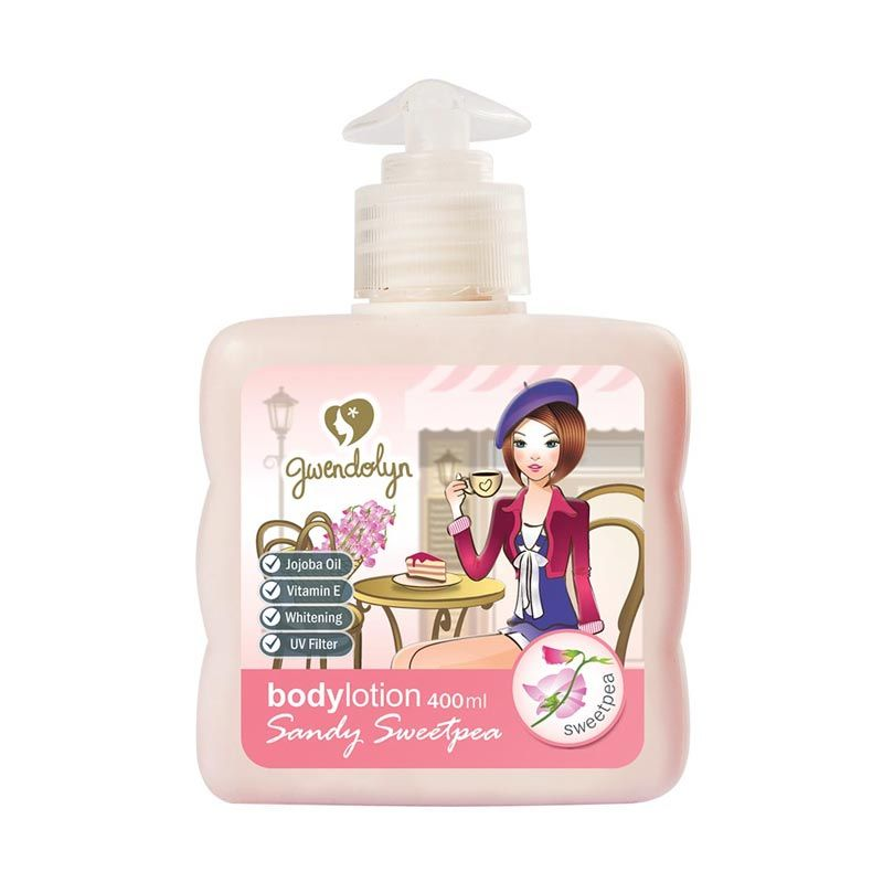 Gwendolyn Body Lotion Sandy Sweetpea 400ml