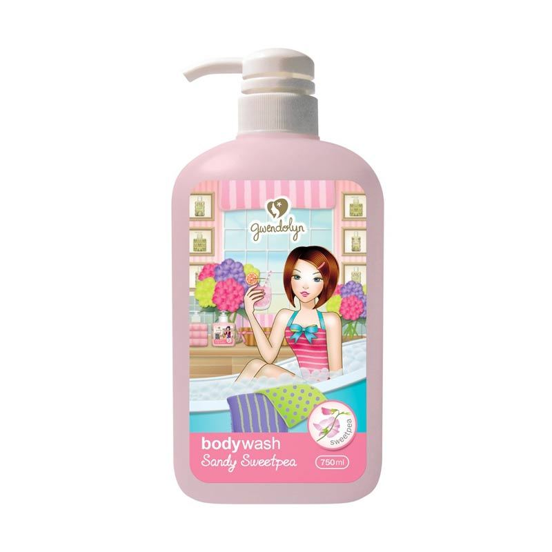 Gwendolyn Body Wash Sandy Sweetpea 750ml