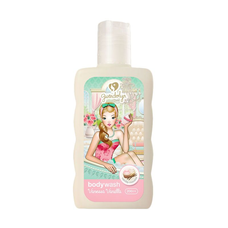 Gwendolyn Body Wash Vanessa Vanilla 200ml