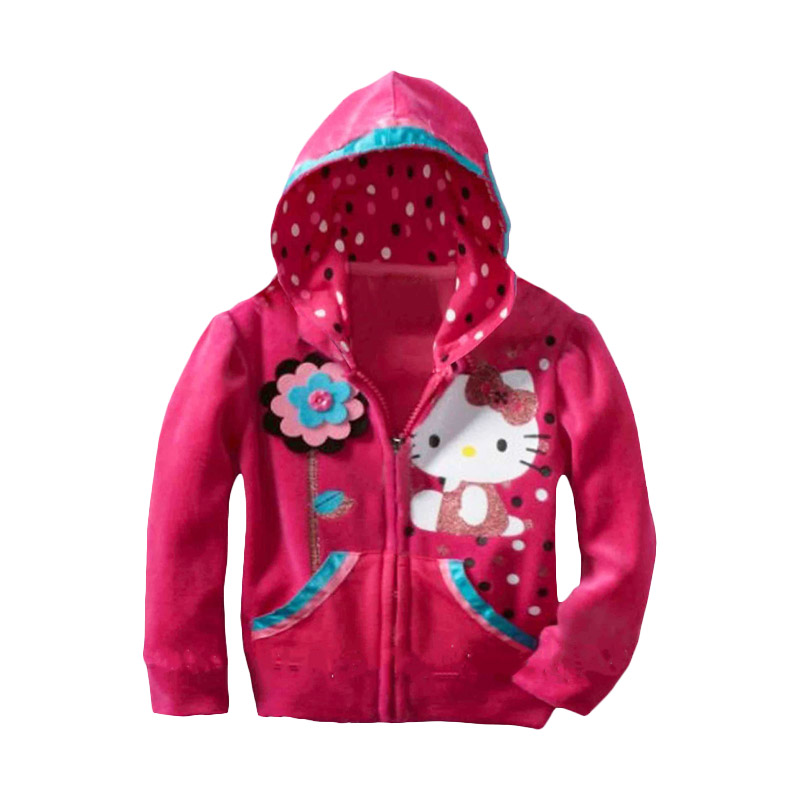 H&M Hoodie Hello Kitty Jacket Anak Perempuan - Blue
