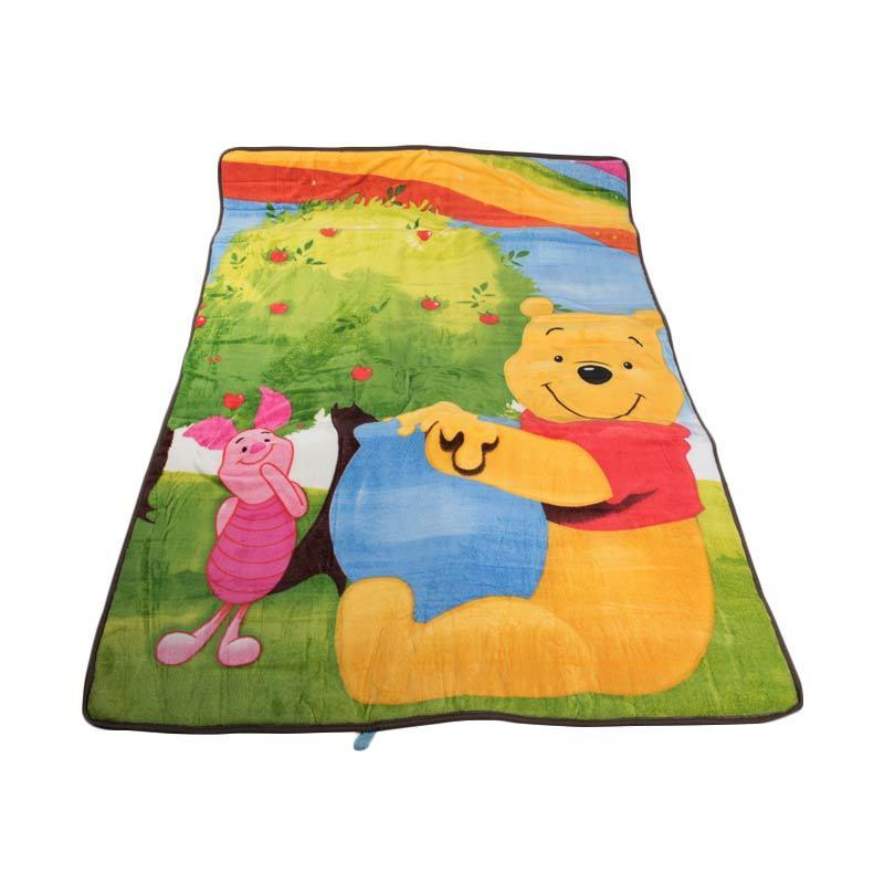 HA&BILL Shop Pooh Karpet Selimut [135 x 200 cm]