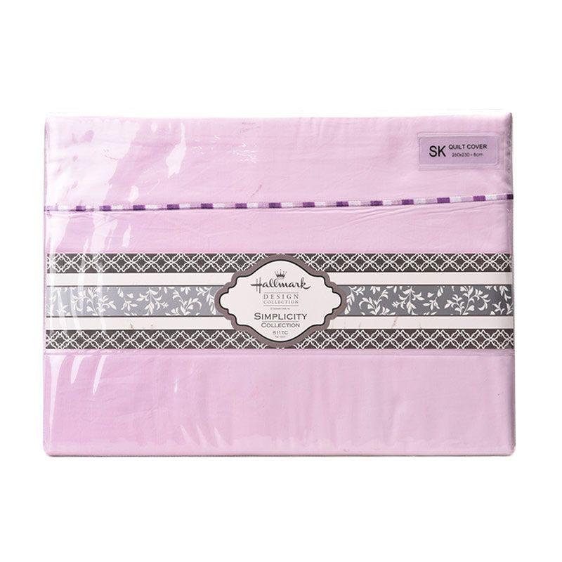 Hallmark HM Simplicity HLS43328L Quilt Cover [Super King]