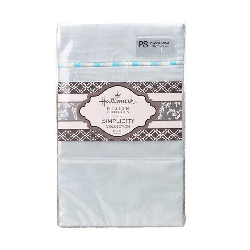 Hallmark HM Simplicity HLS43329 Pillow Sham Sarung Bantal