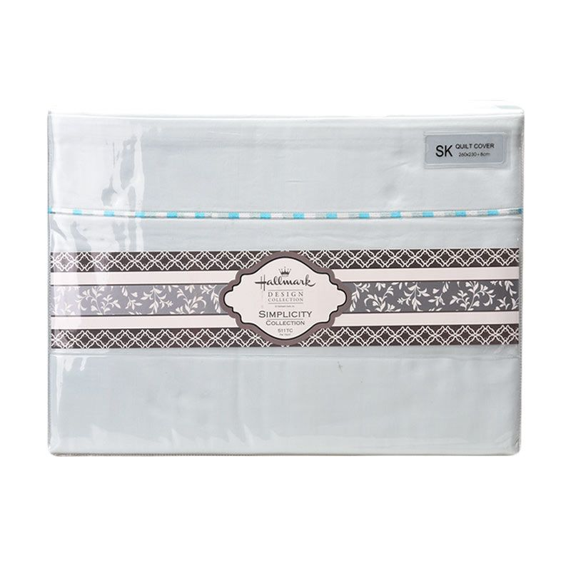 Hallmark HM Simplicity HLS43329L Quilt Cover [Super King]