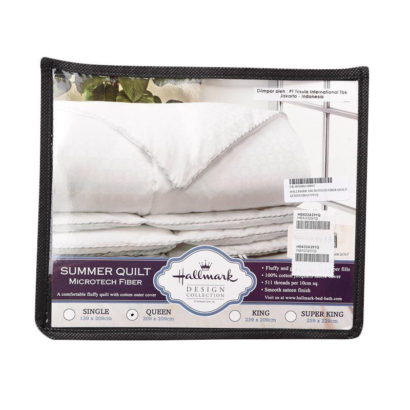 Hallmark Microtech Fiber Quilt HBA33291Q Queen Selimut