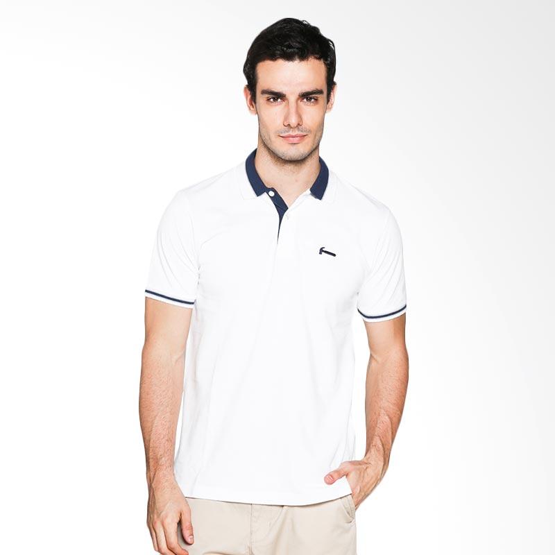 Hammer C1PF332W01 Polo Fashion Polo Shirt - White Extra diskon 7% setiap hari Extra diskon 5% setiap hari Citibank – lebih hemat 10%