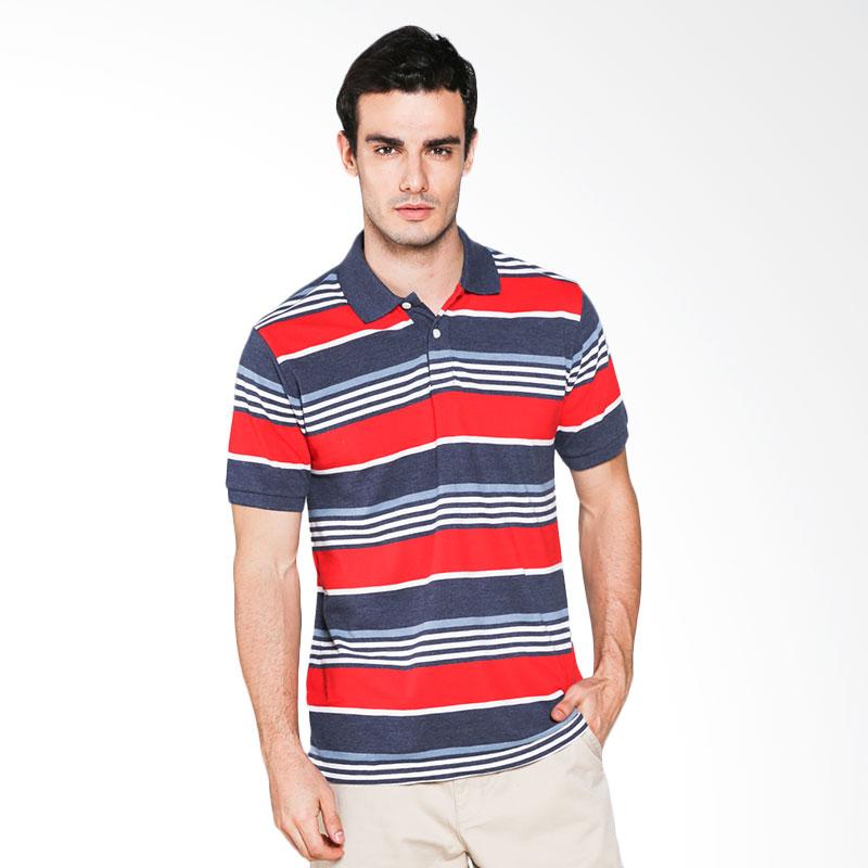Hammer C1PS330H01 Polo Stripe Polo Shirt - Blue Claud Extra diskon 7% setiap hari Extra diskon 5% setiap hari Citibank – lebih hemat 10%