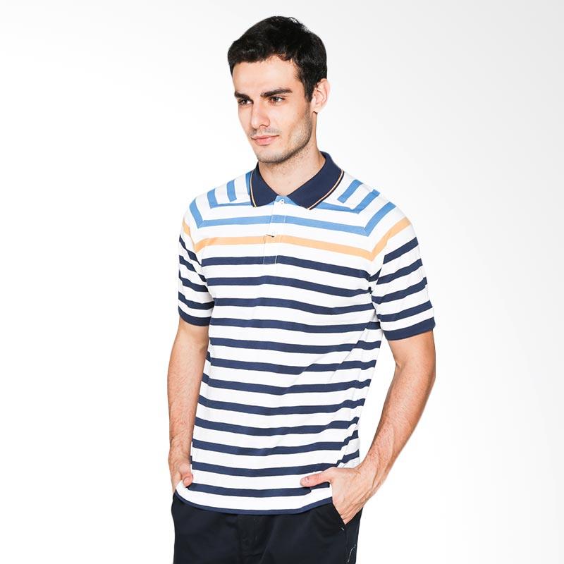 Hammer C1PS335W01 Polo Stripe Polo Shirt - Wht Dre Ble Extra diskon 7% setiap hari Extra diskon 5% setiap hari Citibank – lebih hemat 10%