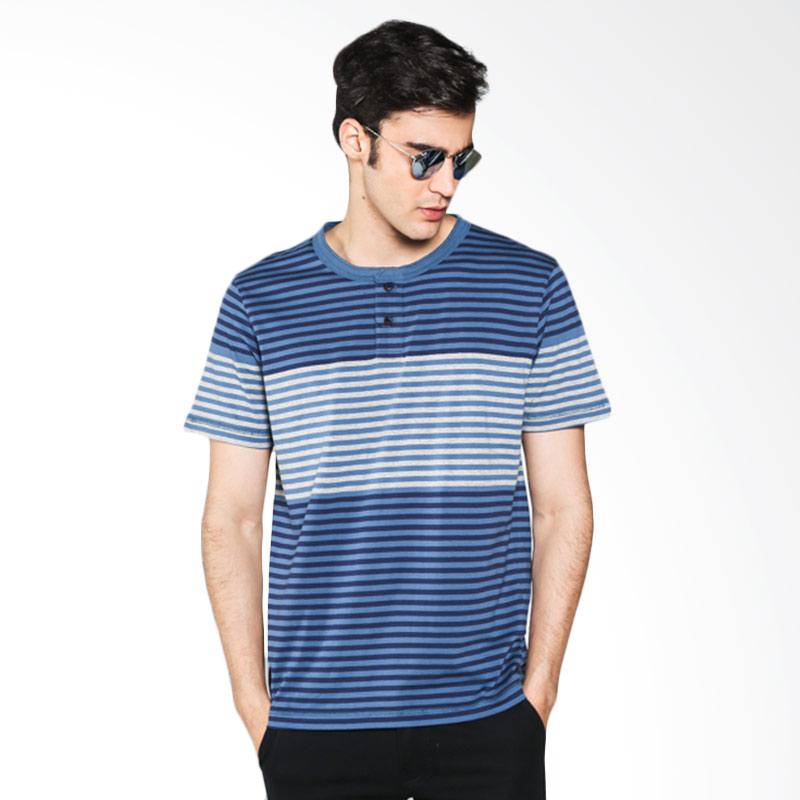 Hammer Henley L1HS005N01 Stripe Grey Black Navy T-shirt Extra diskon 7% setiap hari Extra diskon 5% setiap hari Citibank – lebih hemat 10%