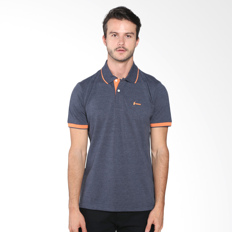 Hammer E1PF352B01 Polo Fashion Polo Shirt - Ombre Blue