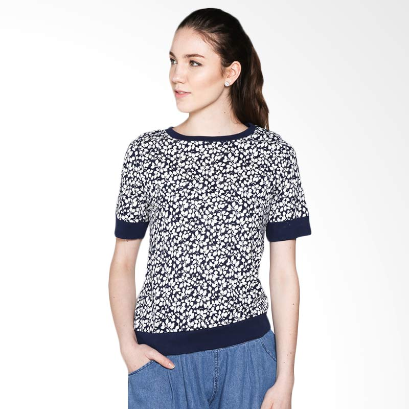 Hammer T-shirt Fashion L5TF711N01 Atasan Wanita - Navy Extra diskon 7% setiap hari Extra diskon 5% setiap hari Citibank – lebih hemat 10%