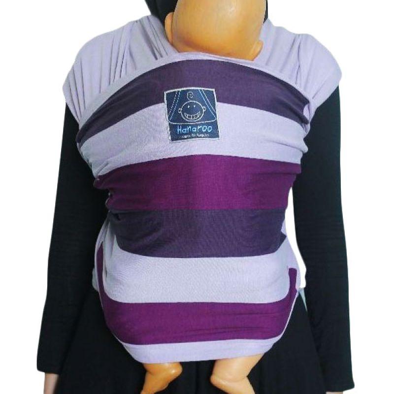Hanaroo BabyWrap Motif Purple Rainbow