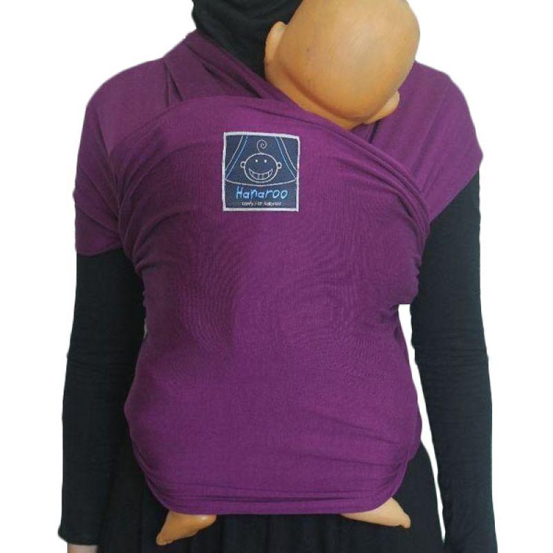 Hanaroo BabyWrap Polos Purple