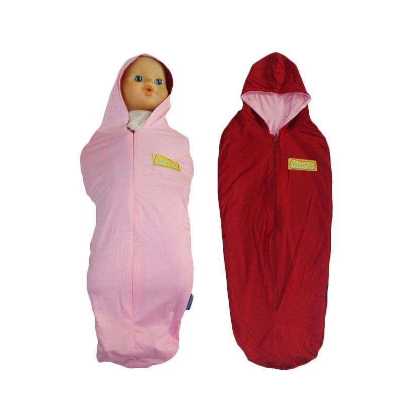 Hanaroo Bedong Instan Hoodie 2colors Baby Pink