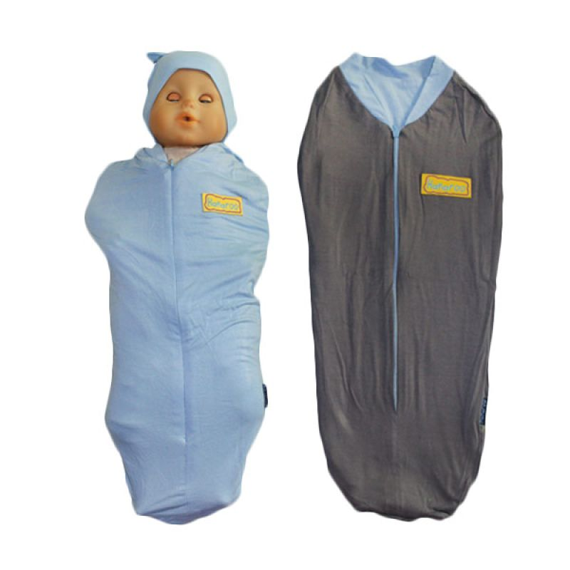 Hanaroo Bedong Instan with Hat 2colors Baby Blue