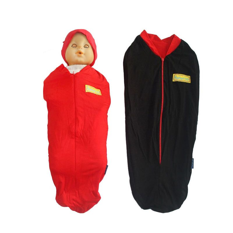 Hanaroo Bedong Instan with Hat 2colors Chilly Red