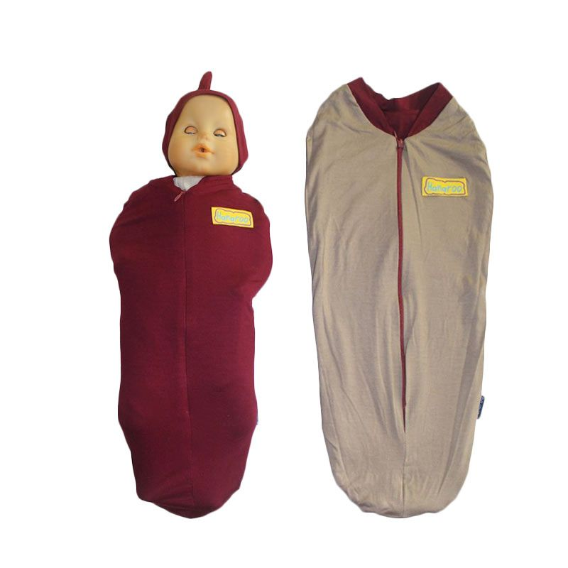 Hanaroo Bedong Instan with Hat 2colors Maroon