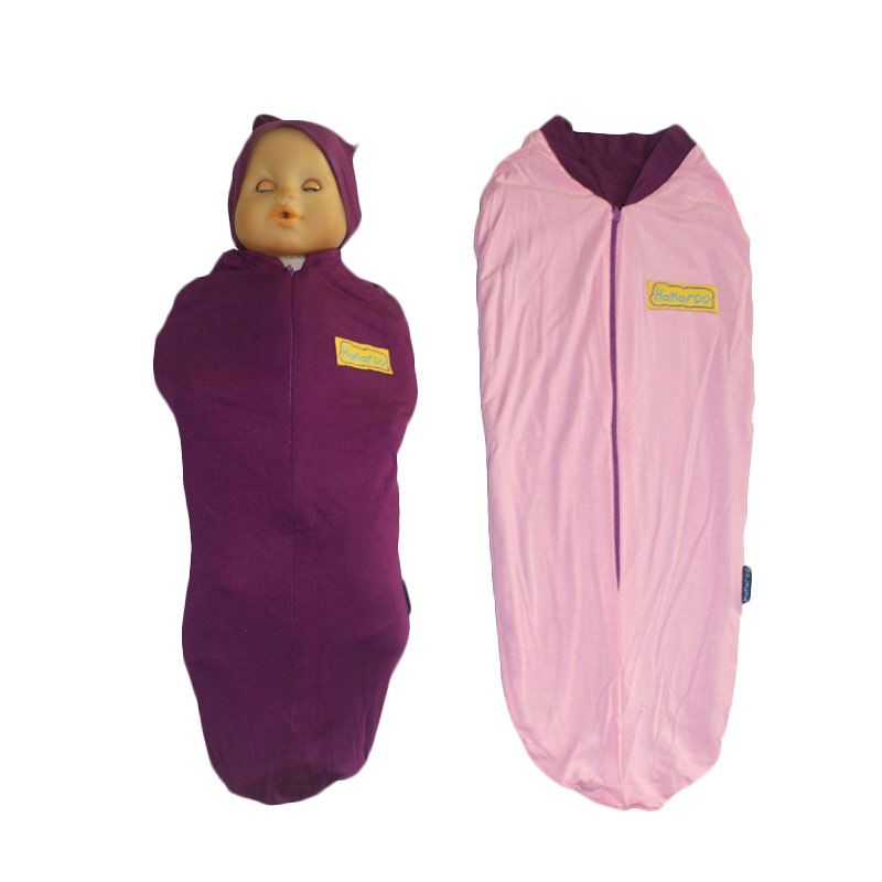 Hanaroo Bedong Instan with Hat 2colors Purple