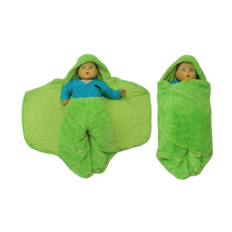 Hanaroo Fluffy Blanket Green