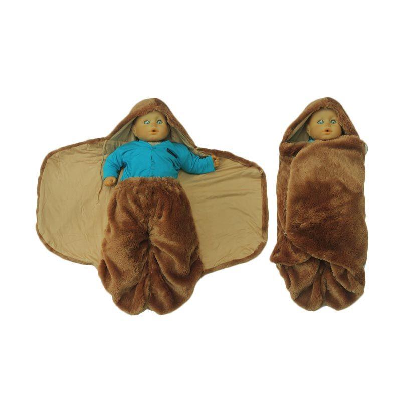 Hanaroo Fluffy Blanket Hazelnut