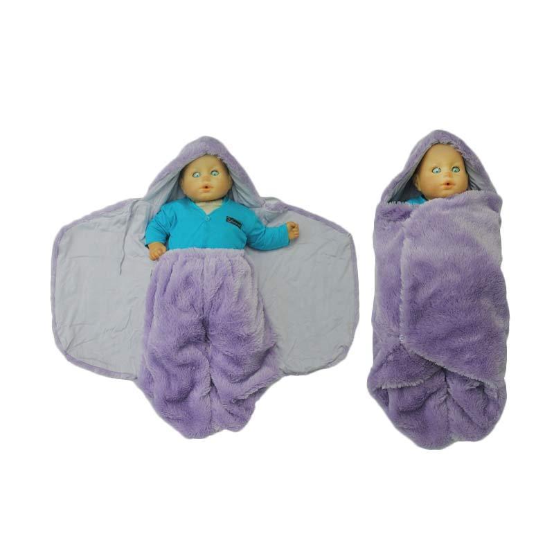Hanaroo Fluffy Blanket Lilac