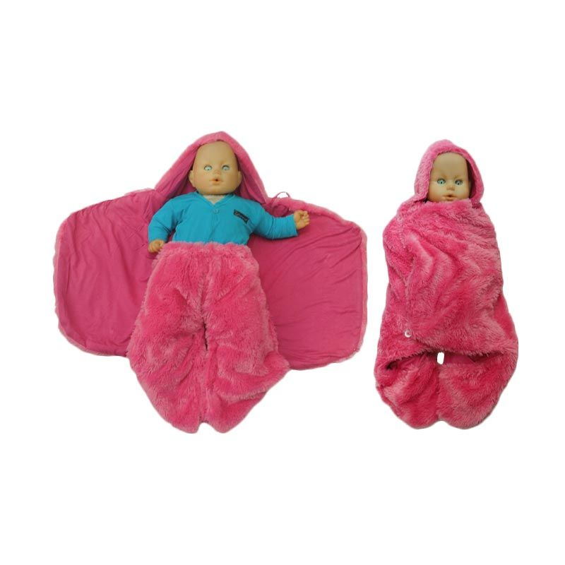 Hanaroo Fluffy Blanket Pink