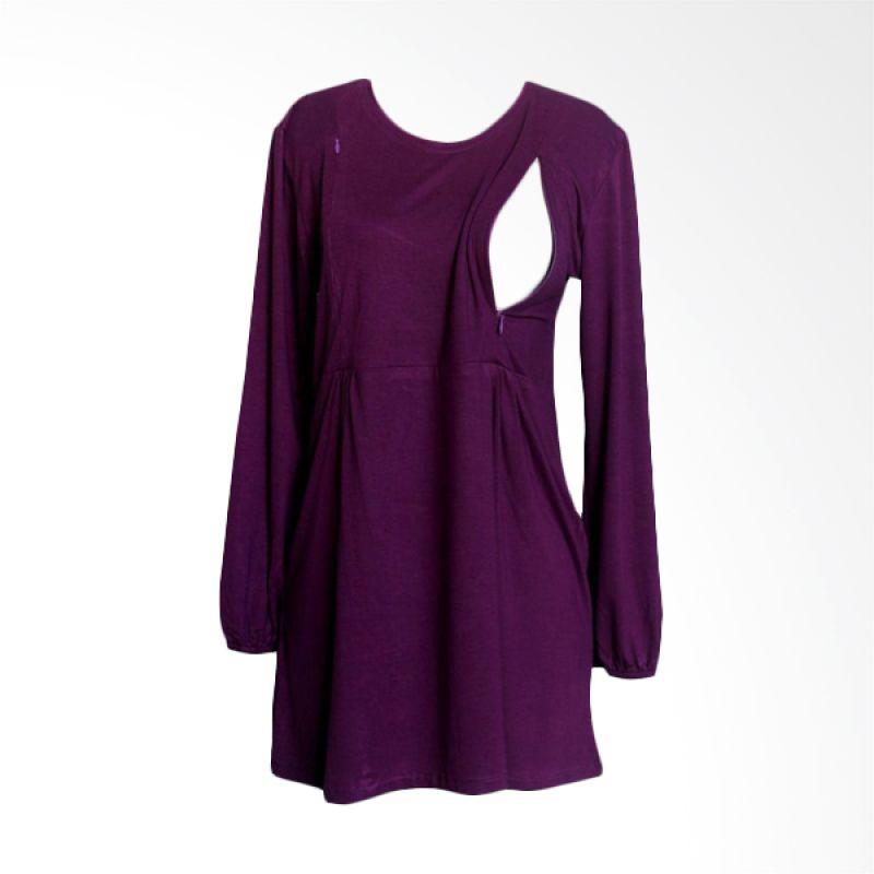 Hanaroo Maternity & Nursing Wear Classic Purple