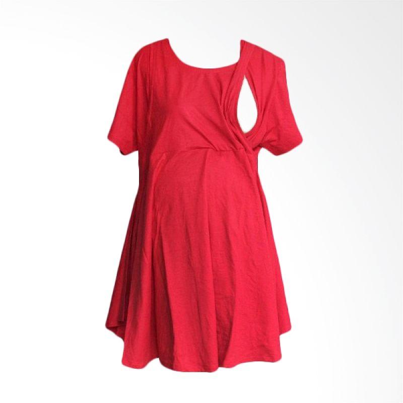 Hanaroo Maternity & Nursing Wear Klok Red