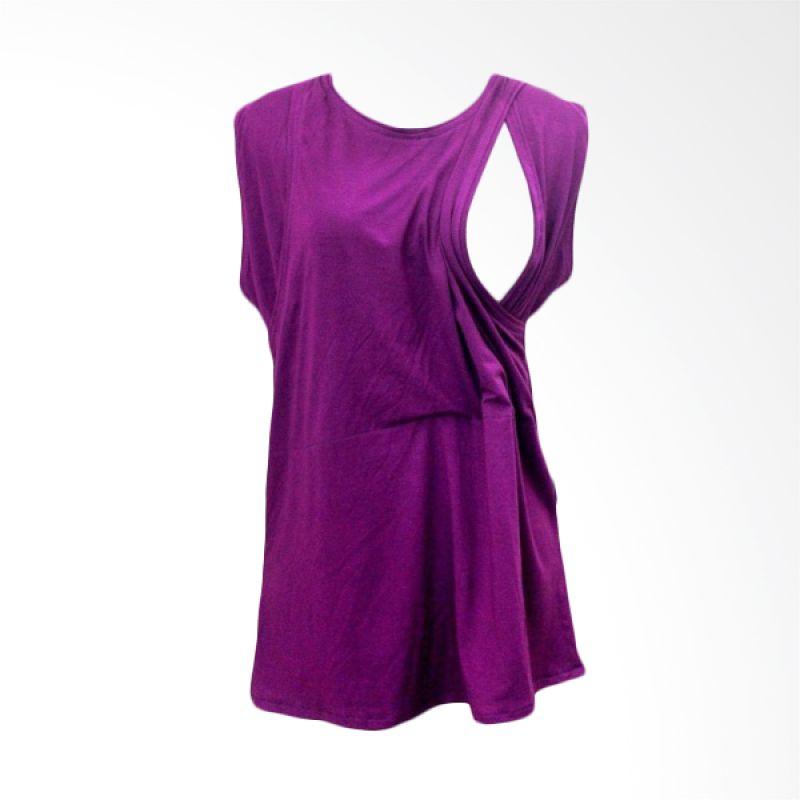 Hanaroo Nursing Wear Inner Purple