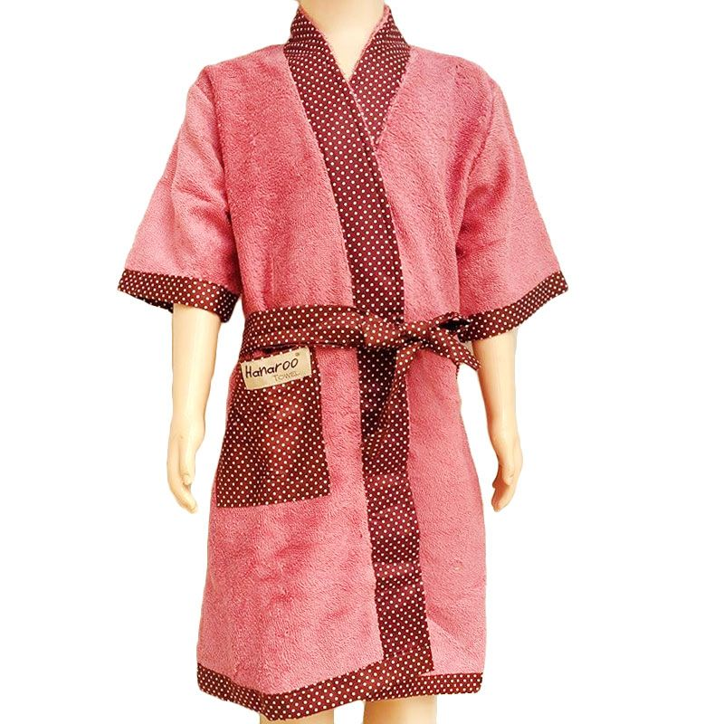 Hanaroo Kimono Pink Handuk [Size S]