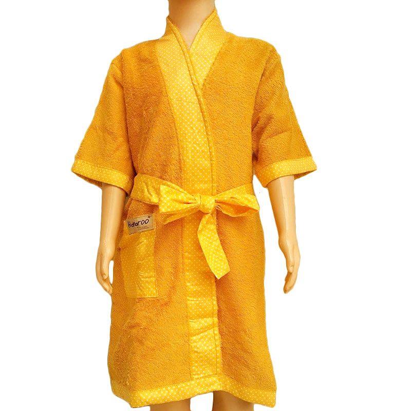 Hanaroo Kimono Yellow Handuk [Size L]
