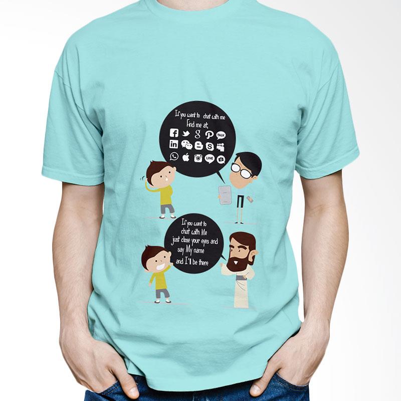 Handesign CHAT1 T-Shirt Unisex - Hijau
