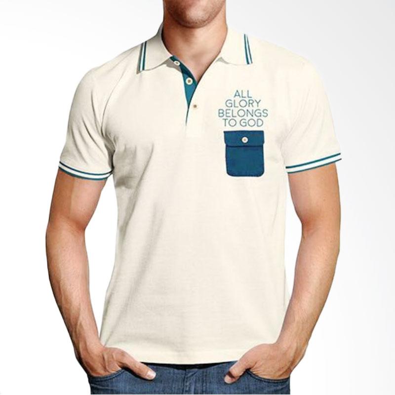 Handesign Collar Tshirt Unisex SCGLORY Atasan Pria - Cream Extra diskon 7% setiap hari Extra diskon 5% setiap hari Citibank – lebih hemat 10%