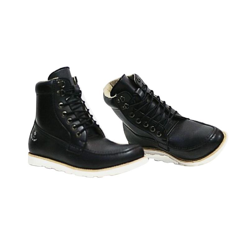 harga Handmade Bally Sepatu Boot pria - Black Blibli.com