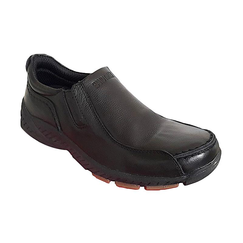 Handymen HK 01 Casual Formal Sepatu Pria - Black