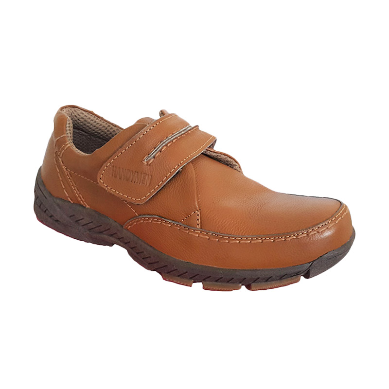 Handymen HK 02 Casual Formal Sepatu Pria - Tan