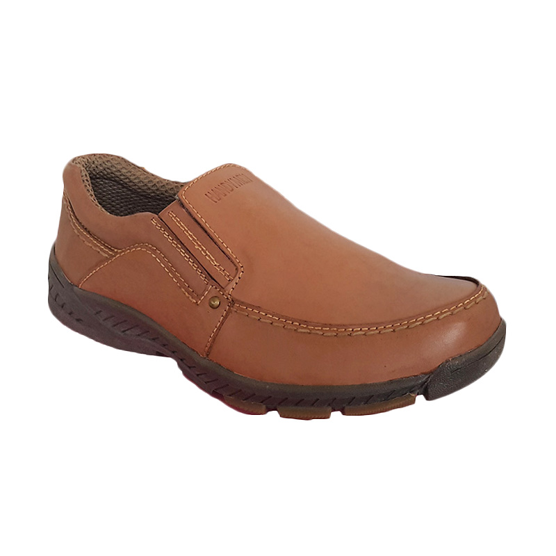 Handymen HK 40 Brown Camel Casual Formal Shoes