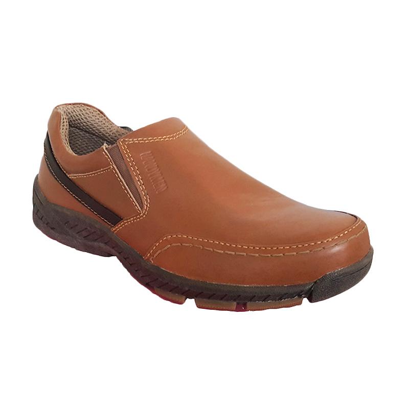 Handymen HK 44 Tan Casual Formal Sepatu Pria - Tan