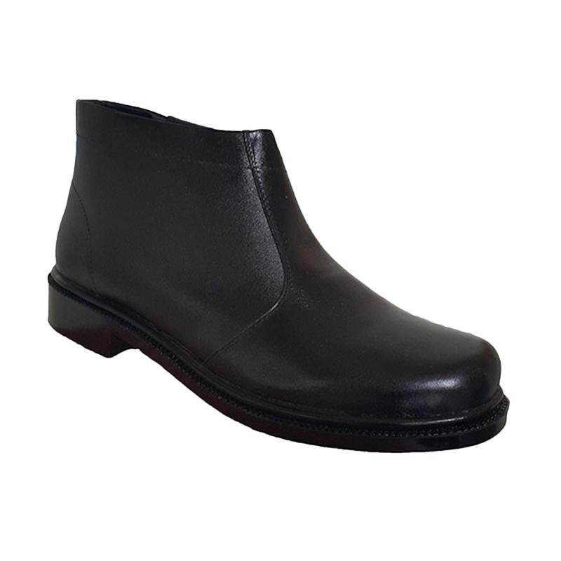 Handymen PDH TNI G 052 Sepatu Boot Klasik - Black