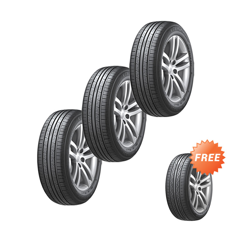 harga RaMe - Buy 3 Get 1 Hankook Kinergy EX H308 205/65/R15 Ban Mobil - Black Blibli.com