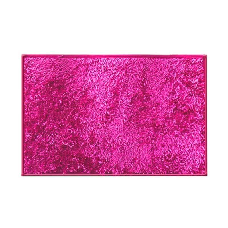 Hanna Cendol Metalik Pink Keset [40x60 cm]