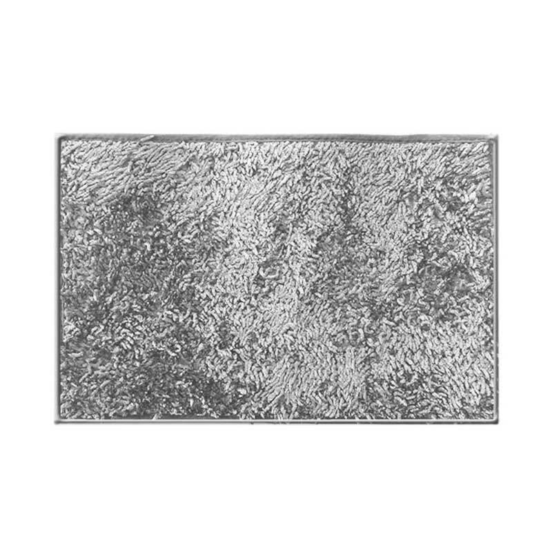 Hanna Cendol Metalik Abu-Abu Keset [40x60 cm]