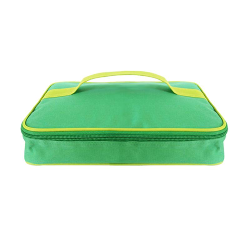 Hanna Tas Lunch Box - Hijau [27x18x6 cm]