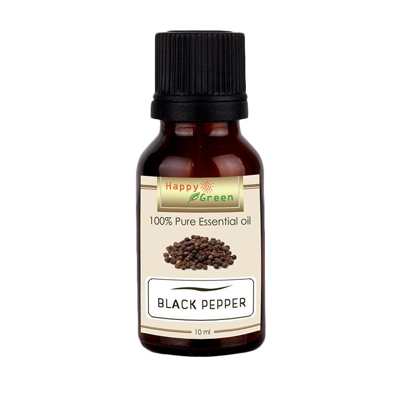 HAPPY GREEN Black Pepper Essential Oil Minyak Lada Hitam