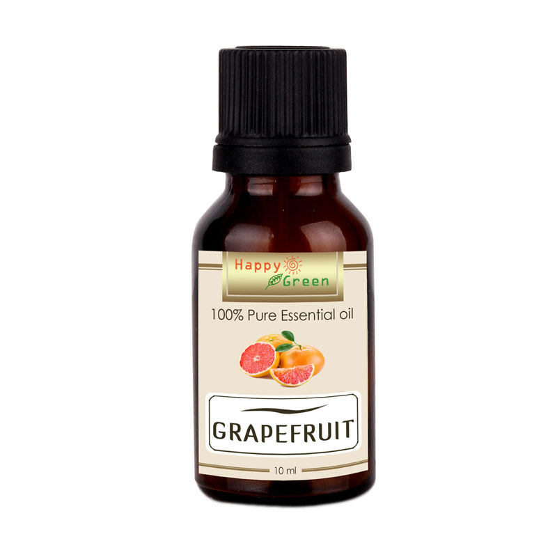 HAPPY GREEN Grapefruit Essential Oil [10 ml]