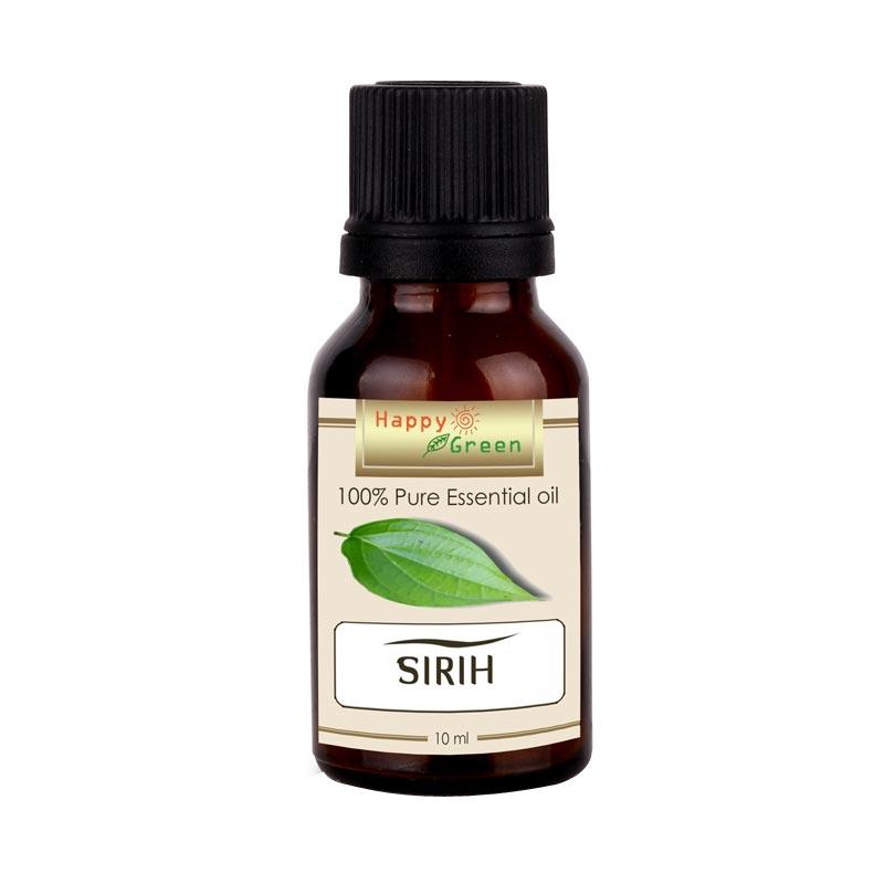 HAPPY GREEN Betel Leaf Essential Oil Minyak Sirih [10 mL]